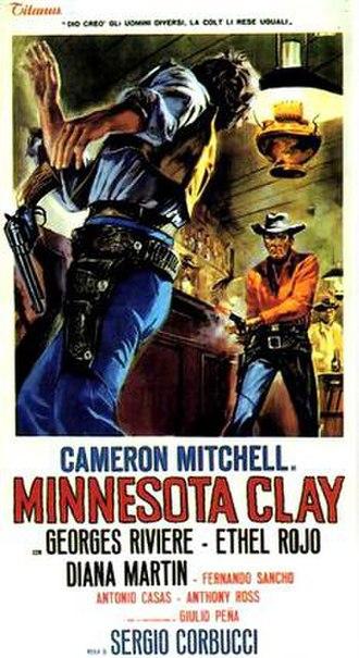 Minnesota Clay - Italian film poster