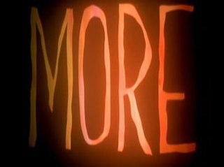 <i>More</i> (1998 film) 1998 stop-motion short film by Mark Osborne