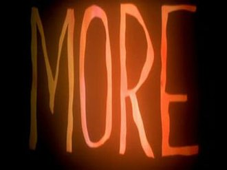 More (1998 film) - Image: More film title