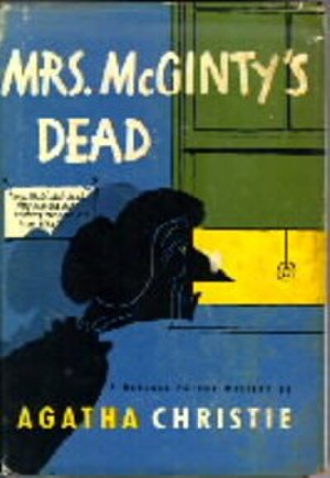 Mrs McGinty's Dead - Image: Mrs Mc Ginty's Dead US First Edition Cover 1952