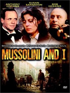 <i>Mussolini and I</i> 1985 television film directed by Alberto Negrin
