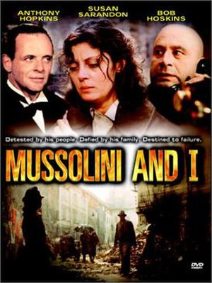 Mussolini and I - DVD cover of Mussolini and I