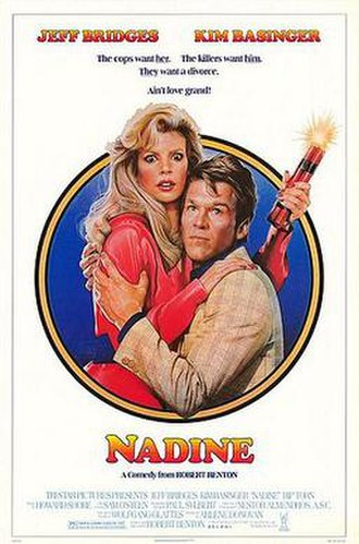 Nadine (1987 film) - Theatrical poster by Drew Struzan
