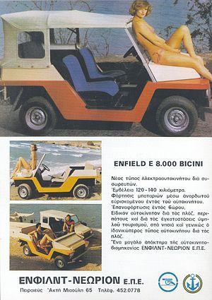 Neorion - 1973 Enfield-Neorion E 8000 Bicini