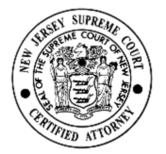Supreme Court of New Jersey - Image: New Jersey Supreme Court seal