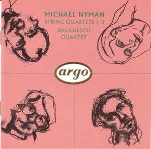 String Quartets 1–3 - Image: Nymanstringquartets 1 3
