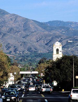 Ojai, California - Downtown Ojai