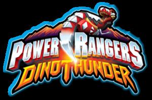 Power Rangers Dino Thunder - Image: PR Dino Thunder logo