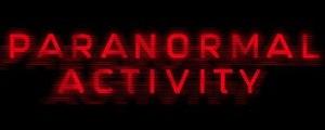 Paranormal Activity (film series) - Image: Paranormal Activity logo