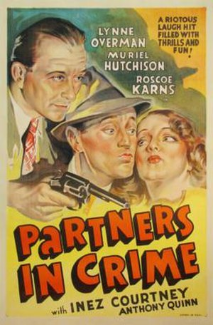Partners in Crime (1937 film) - Theatrical release poster