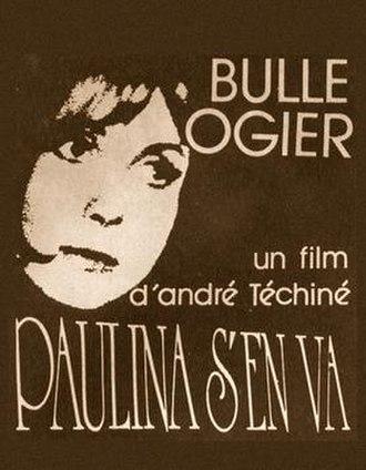 Paulina Is Leaving - Image: Paulina s'en va. film poster