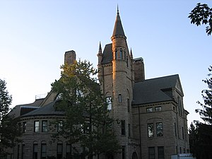 Oberlin College - Peters Hall, home of the language departments, in 2010.