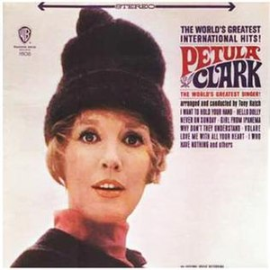 The World's Greatest International Hits - Image: Petula clark sings the world's greatest international hits warner bros