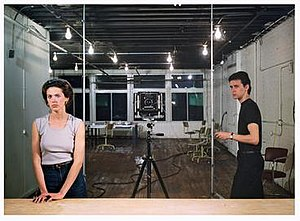 Jeff Wall - Picture for Women (1979). Art critic Jed Perl describes Picture for Women as Wall's signature piece.