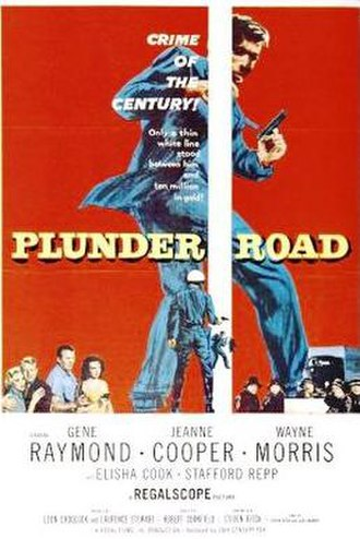 Plunder Road - Theatrical release poster
