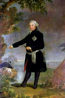 King Frederick II, by Anna Dorothea Therbusch, 1772 (Source: Wikimedia)