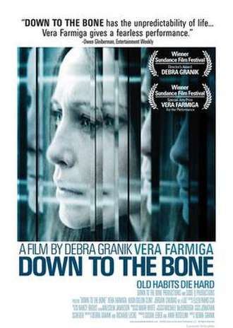 Down to the Bone (film) - Theatrical release poster