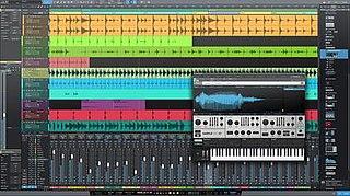 Studio One (software) Digital Audio Workstation (DAW) application