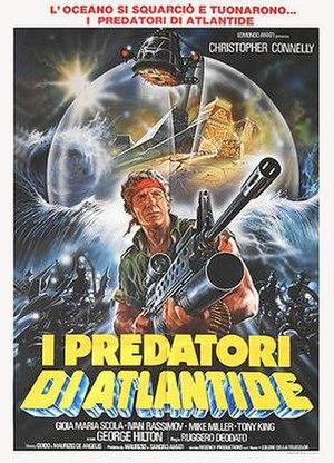 The Atlantis Interceptors - Italian theatrical release poster by Renato Casaro