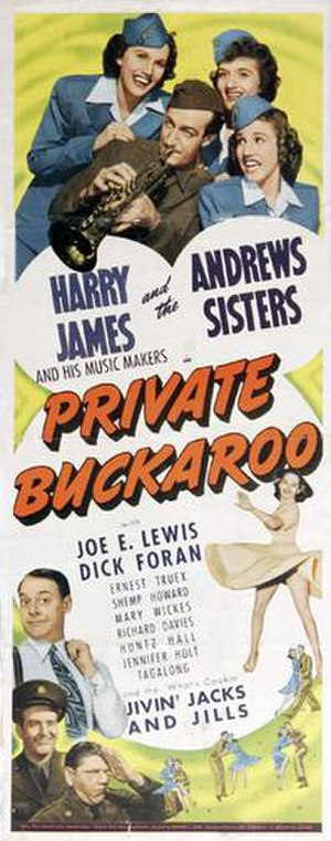 Private Buckaroo - Film poster
