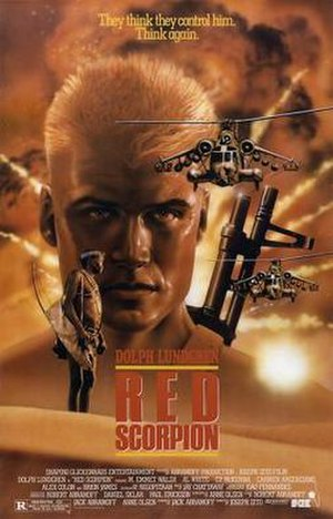 Red Scorpion - Theatrical release poster