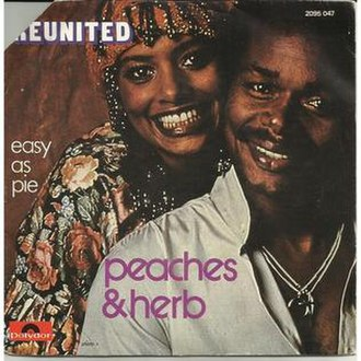 Reunited (song) - Image: Reunited Peaches & Herb