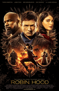 <i>Robin Hood</i> (2018 film) 2018 old English based action-adventure film directed by Otto Bathurst