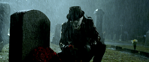 Rorschach (comics) - Jackie Earle Haley as Rorschach in the film Watchmen.