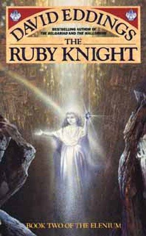 The Elenium - Cover of The Ruby Knight
