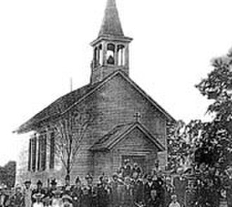 Barrington Hills, Illinois - St. John Nepomucene Chapel (before 1915)
