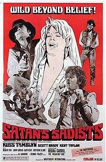 <i>Satans Sadists</i> 1969 film directed by Al Adamson