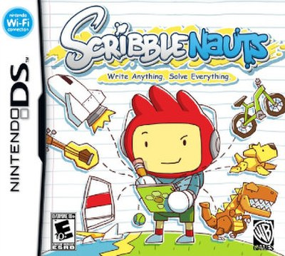 Picture of a game: Scribblenauts
