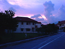 Serangoon Gardens at dusk