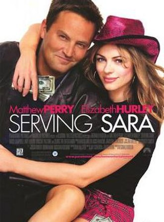 Serving Sara - Theatrical release poster