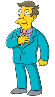 Principal Skinner Fictional character from The Simpsons franchise