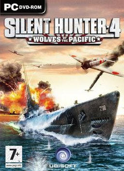 Silent Hunter 4: Wolves of the Pacific Box cover.