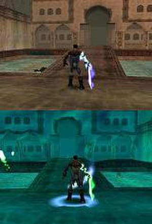 Legacy of Kain: Soul Reaver - The same location in the material and spectral realms