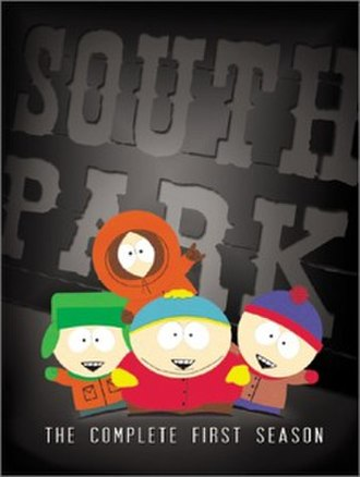 South Park (season 1) - DVD cover