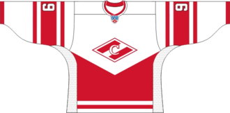 HC Spartak Moscow - KHL Jersey 2008–09