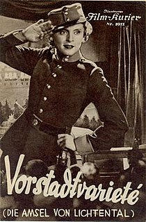 <i>Suburban Cabaret</i> 1935 film by Werner Hochbaum