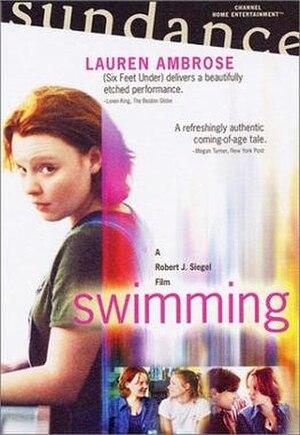 Swimming (film) - Swimming DVD cover