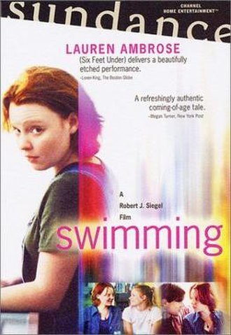 Swimming (film) - Swimming DVD cover