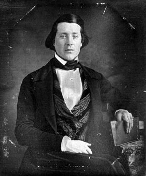 Thomas Edgeworth Courtenay - Portrait of Thomas Edgeworth Courtenay about 1844 (age 22)