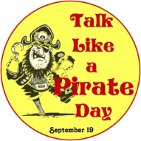 Sept. 19 is Int'l Talk Like A Pirate Day