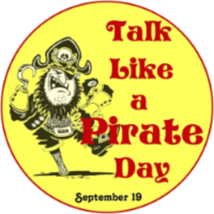 International Talk Like a Pirate Day - Image: Talk Like a Pirate Day