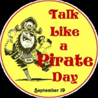 International Talk Like a Pirate Day - Image: Talk Like a Pirate Day