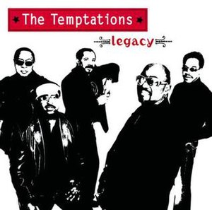 Legacy (The Temptations album) - Image: Tempts legacy