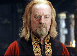 Théoden - Bernard Hill as King Théoden in Peter Jackson's The Lord of the Rings: The Return of the King.