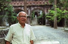 The American linguist Roy Andrew Miller (1924–2014) in Kyōto in 1982.jpg
