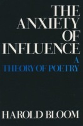 The Anxiety of Influence - Cover of the first edition